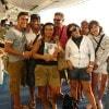 MimmoAprile  insieme a Giuseppe, Giovanna, Miriam, Gino, Franca, Manuela e Fabio. Un saluto da Torino
