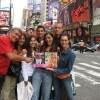 La famiglia Polio a New York: «Sorrisi e canzoni dall'altra parte del mondo!»