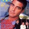 George Clooney sulla copertina di Sorrisi