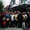 Gilda e il coro folkloristico di San Valentino (PE)  in tournée a Marcinelle (Belgio)