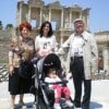 Francesca e la sua famiglia in Turchia