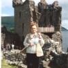 Adriana ce l'ha fatta: ha conquistato il lago di Loch Ness con l'inseparabile «Sorrisi»