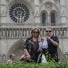 Carmen e Marisa con «Sorrisi» a Parigi