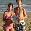 Giulia e Riccardo con «Sorrisi» a Bibione Lido del Sole (VE)