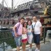 Gloria e Armando con «Sorrisi» e gli amici in crociera nel Mediterraneo