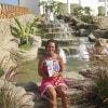 Federica a Sharm el Sheik con «Sorrisi»