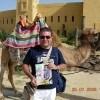 Roberto con «Sorrisi» a Sousse in Tunisia