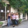 Michela con «Sorrisi» e le sue amiche a Londra