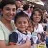 Sabrina, Daniele, Silvia e Simona con «Sorrisi» al concerto di Ligabue a S.Siro