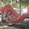 Valentina con «Sorrisi» in campeggio al Golfo dell'Asinara