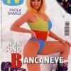 Paola Barale sulla copertina di Sorrisi