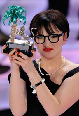 Arisa, vincitrice delle Proposte 2009 al Festival di Sanremo