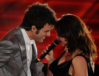 Francesco Renga e Daniela Dessì
