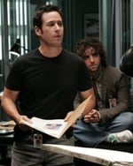 Rob Morrow (a sinistra) e David Krumholtz