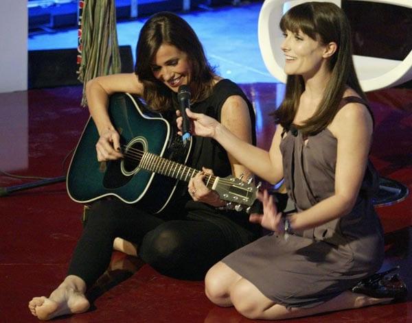 Cristina Parodi e Victoria Cabello