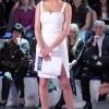 Alessia Marcuzzi in abito Versace (Foto Olycom)