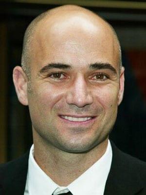 André Agassi, ex tennista, 39 anni