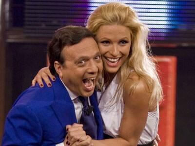 Piero Chiambretti e Michelle Hunziker