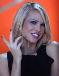 Ilary Blasi, conduttrice tv, 28 anni (foto Kikapress)