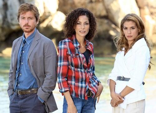 Claudio Gioè, Simona Cavallari e Giulia Michelini