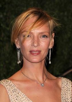 Uma Thurman, attrice, 39 anni (foto Kikapress)