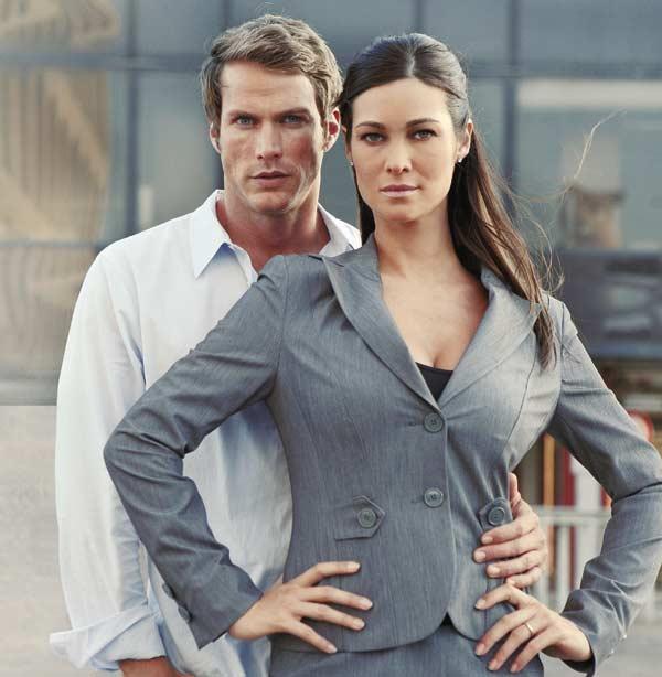 Manuela Arcuri con Jason Lewis nei panni di Anna e Tom, protagonisti di «So che tornerai». (Foto: Fotocronache Mario Messana)