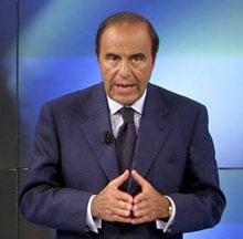 BRUNO VESPA, giornalista, 65 anni