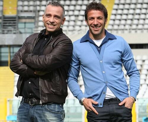 Eros Ramazzotti e Alessandro Del Piero