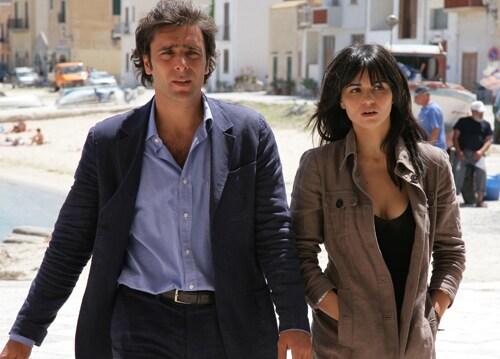 Adriano Giannini e Romina Mondello