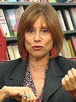LORENZA FOSCHINI, giornalista, 59 anni