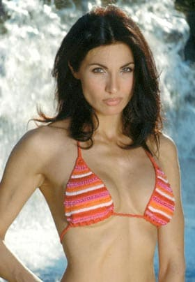 NADIA BENGALA, attrice, 47 anni