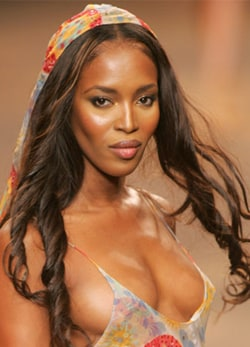 Naomi Campbell, top model, 39 anni