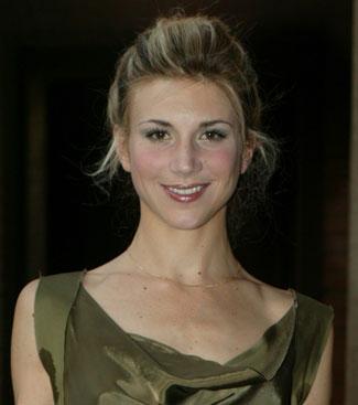 Nicoletta Romanoff, attrice, 30 anni (foto Kikapress)