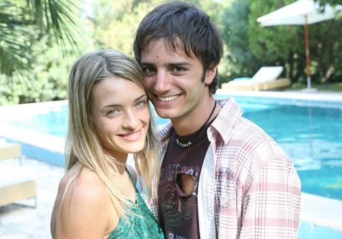 Carolina Crescentini e Nicolas Vaporidis