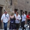 Robert Pattinson sul set di «New Moon» a Montepulciano (foto Kika Press & Media)
