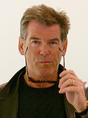 PIERCE BROSNAN, attore, 56 anni (foto KikaPress)