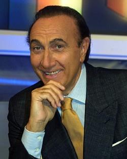 PIPPO BAUDO, presentatore tv, 73 anni