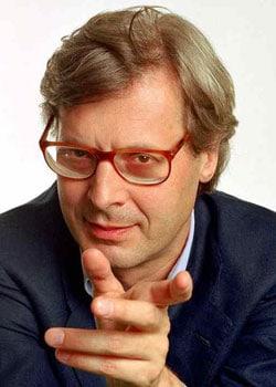 Vittorio Sgarbi, critico d'arte e opinionista, 57 anni