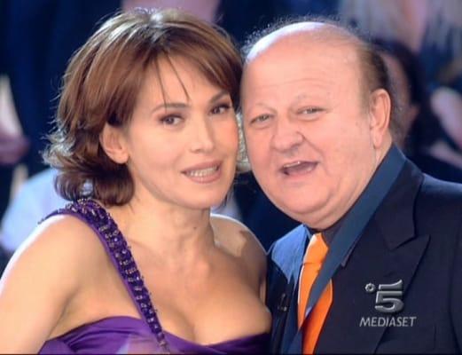 Barbara D'Urso e Massimo Boldi
