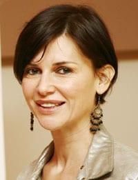 Veronica Logan, attrice, 40 anni (foto Kikapress)