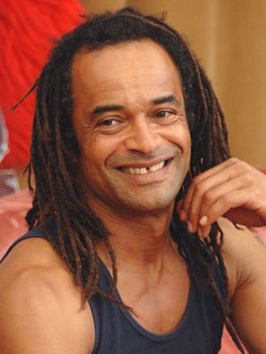 YANNICK NOAH, ex tennista e cantante, 49 anni