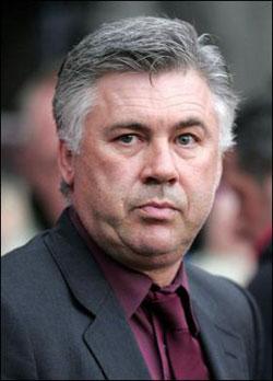 CARLO ANCELOTTI, allenatore di calcio, 50 anni (foto Kika Press & Media)