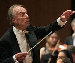 CLAUDIO ABBADO, direttore d'orchestra, 76 anni