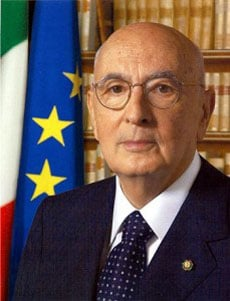 GIORGIO NAPOLITANO, Presidente della Repubblica Italiana, 84 anni