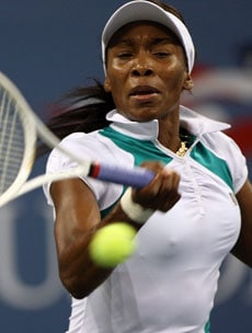 VENUS WILLIAMS, tennista, 29 anni