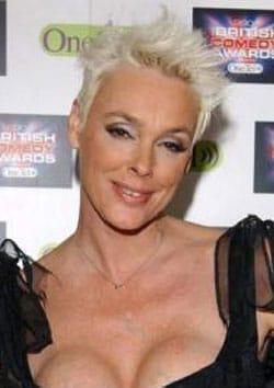 BRIGITTE NIELSEN, attrice ed ex modella, 46 anni