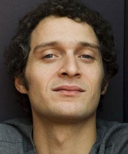 CLAUDIO SANTAMARIA, attore, 35 anni