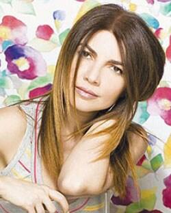 CRISTINA D'AVENA, cantante, 45 anni