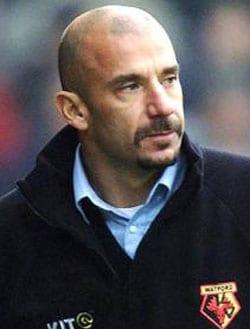 GIANLUCA VIALLI, ex calciatore e allenatore, 45 anni