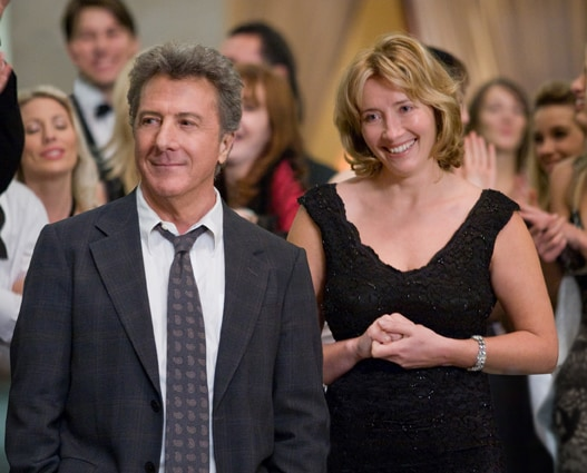 Dustin Hoffman ed Emma Thompson